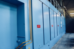 Portes de sécurité turbine